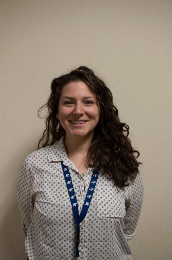 New science teacher Rachel Popp