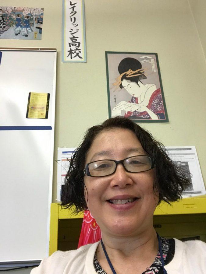 New Japanese teacher Noriko Divers