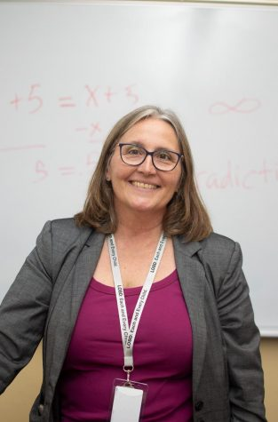 New strategic math teacher Teri Lovelace