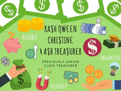 Treasurer - Christine Youn