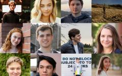 12 of the Class of 2020: Lauren Baumer, Caroline Cohen, Lucas Cuyuch, Eli Deats, Diyar Dezay,  Sam Herron, Avery Holmes, Maggie Madziarczyk, Ben Meisberger, Charlie Ryan, and Parker Williams