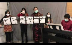 LOHS chamber group celebrate Chinese New Year with traditional song